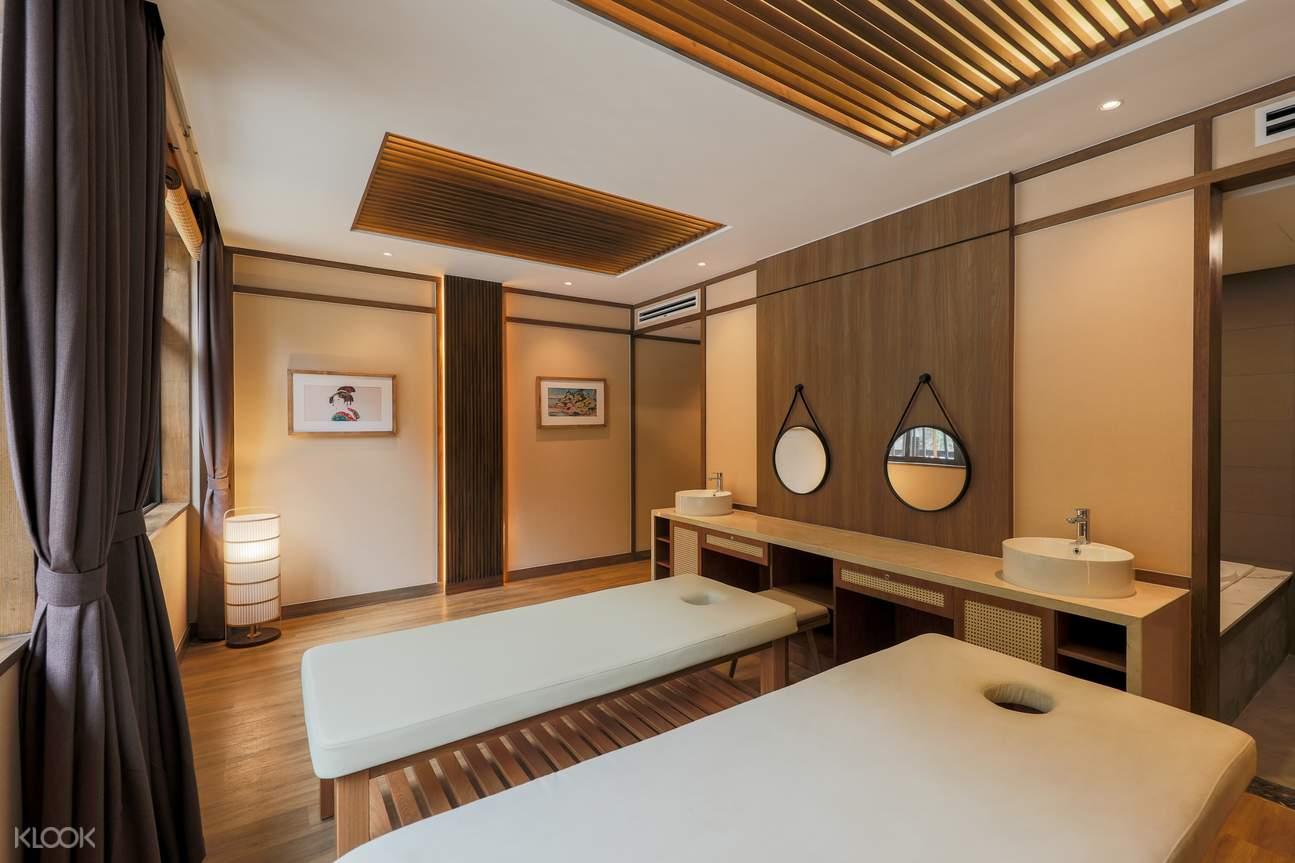 Khu vực phòng tắm Yoko Onsen